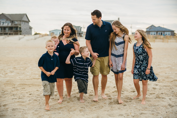 outer banks family beach photos