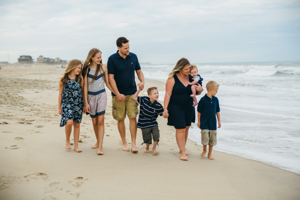 Sarah D'Ambra Photography Outer Banks beach portraits