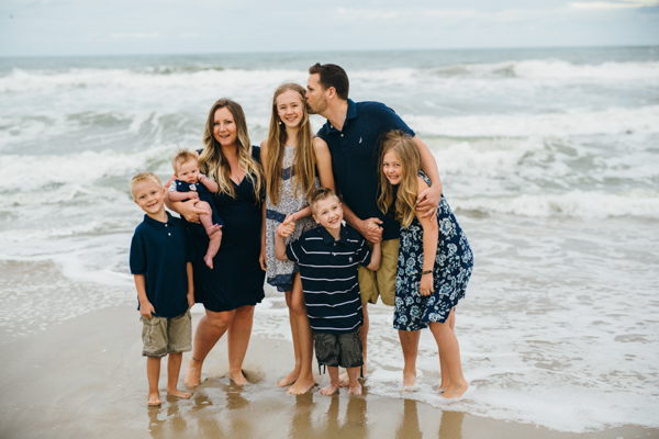 vacation family beach photography