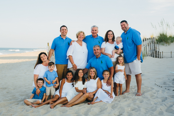 Corolla Family Portrait Photography Sarah D'Ambra Photography Outer Banks Beach Portrait Photography