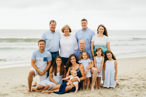 Corolla Family Beach Portrait Photography