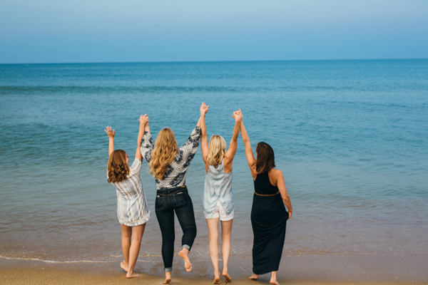 Outer Banks Beach Family Portraits