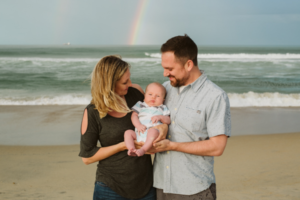 Rainbow beach portrait session