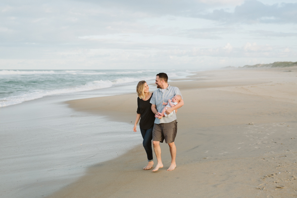 Coquina beach family session