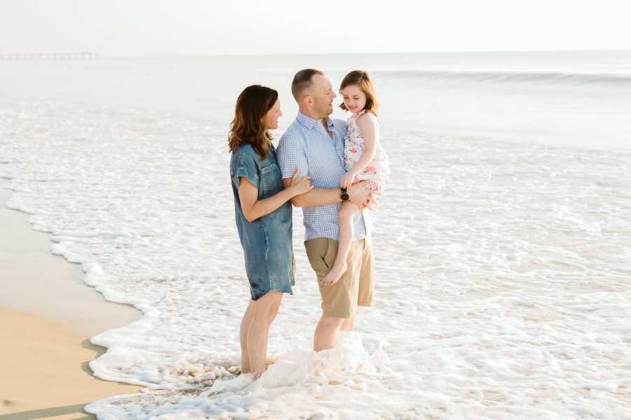 corolla family sessions outer banks beach portraits