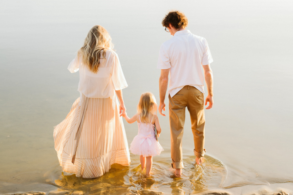 sunset family session